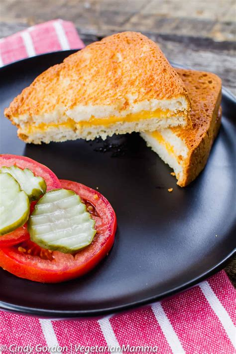 fryer air cheese grilled recipe recipes vegetarianmamma easy toasted airfryer dinner perfect sandwich simple vegetarian recipies delicious grilling lunch healthy