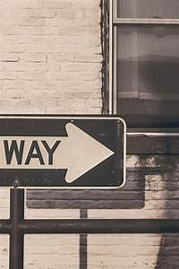 Free stock photo of arrow, direction, one way