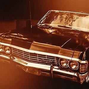 "1967 Chevy Impala sedan, aka ""Baby"", aka ""Metallicar"". m ..."