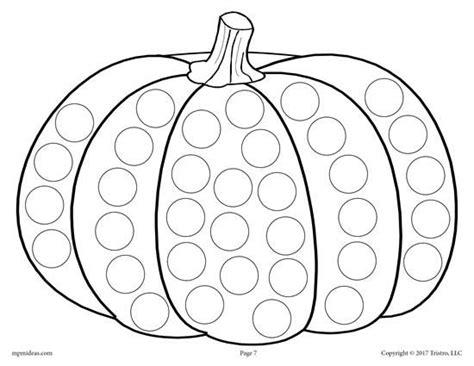 thanksgiving   dot printables  dot art painting coloring pages   dot fall