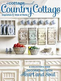 country cottage magazine Miss Mustard Seed's Country Cottage - The Cottage Journal