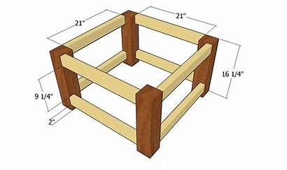 Table Coffee Building Frame Plans Build Step