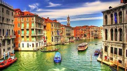 Italy Wallpapers Venice Europe Canal Grand Country