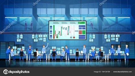 business team work success concept  trading