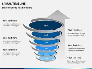 Spiral Timeline Powerpoint Template