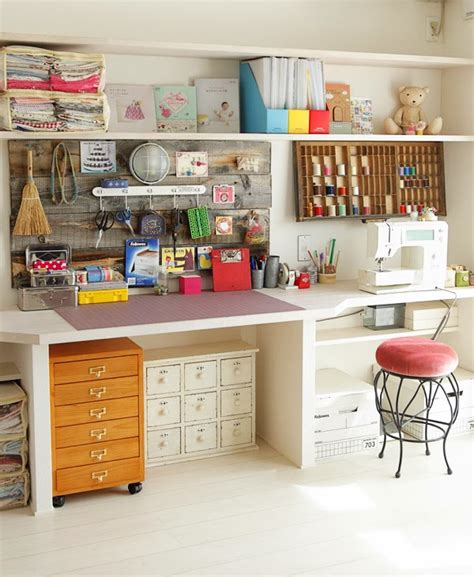 24 Creative Craft Room Storage Ideas Hearthandmadeuk