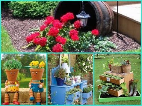 outdoor garden decor ideas diy garden decor 35 cheap and easy ideas 3821