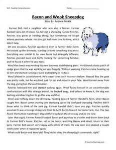 free third grade reading comprehension 3rd grade comprehension worksheets free worksheet workbook site