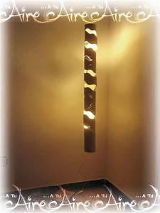 Lampara de bambú modelo Agua - 185,00€ — www dbambu net
