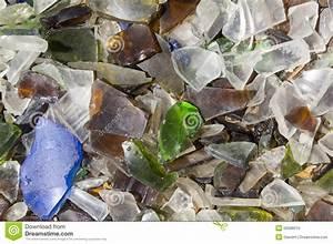 Broken Glass Pieces Stock Photo - Image: 50588010