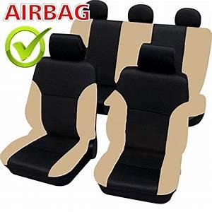 Siege Auto Airbag : akhan sb102 qualit housse de si ge auto housse housses d j housses avec airbag lat ral noir ~ Maxctalentgroup.com Avis de Voitures