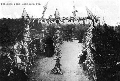 florida memory aunt aggie   bone yard lake city