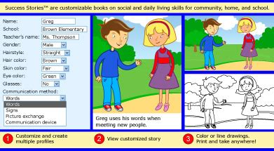 personalized childrens books at sandbox learning 948 | screen shot stories