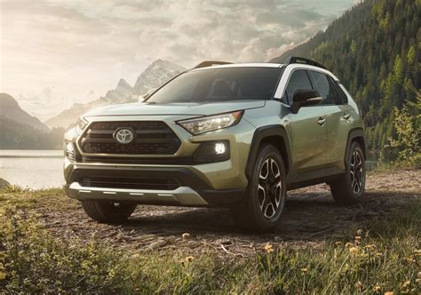 Toyota Rav 4 New by 2019 Toyota Rav4 Gets Tough New Look Debuts At New York