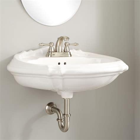 Amias Porcelain Wallmount Bathroom Sink  Bathroom Sinks