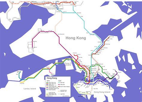 hong kong map detailed city  metro maps  hong kong