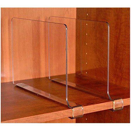clear shelf dividers closetmate beautiful acrylic shelf dividers closet