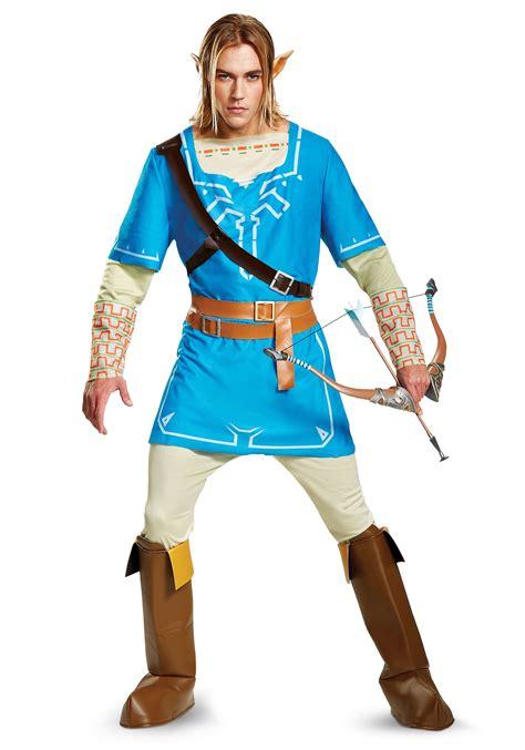 Legend Of Zelda Link Breath Of The Wild Deluxe Costume For Men