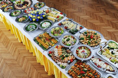 tables cuisines and unique wedding food decoration ideas weddings