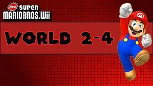 New Super Mario Bros Wii World 2 4 All Star Coins