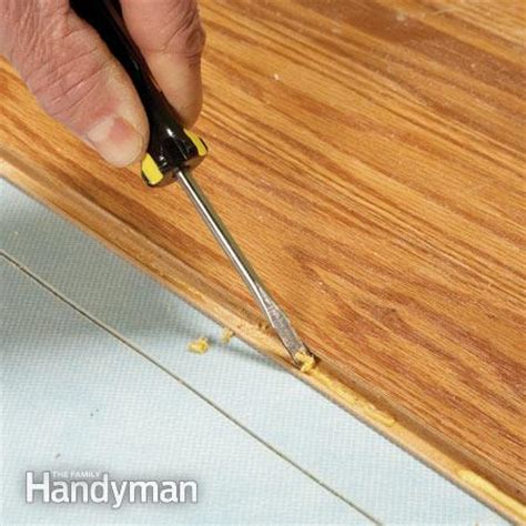 laminate flooring repair laminate floor repair the family handyman