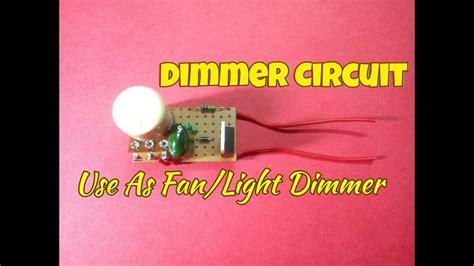 Dimmer Circuit Using Triac Diac Use This