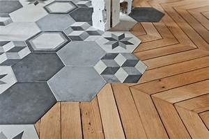 les carreaux pour booster votre deco escale design With carreau de ciment hexagonal