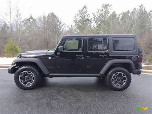 2017 Black Jeep Wrangler Unlimited Rubicon Hard Rock 4x4 ...