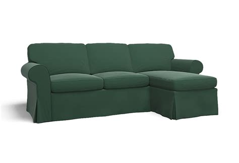canapé hagalund ikea ektorp two seat sofa w chaise lounge right cover palermo