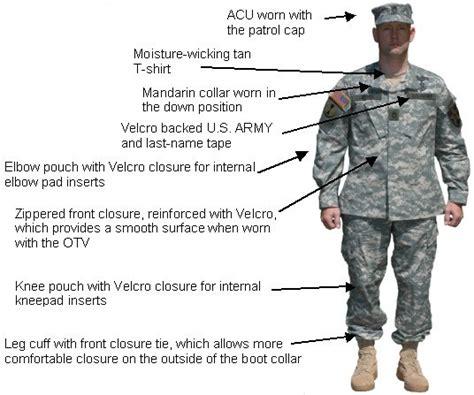 army combat uniform armystudyguidecom