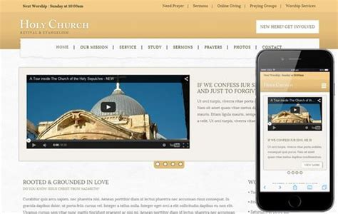 free church website templates 50 free html5 website templates
