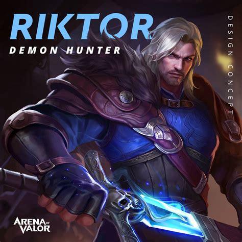 riktor hero spotlight arena  valor hero spotlight
