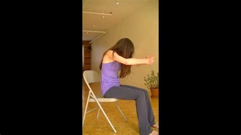 abdos sur une chaise sur chaise avec virginie 10 minutes