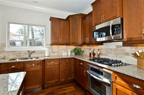 kitchen paint colors with walnut cabinets shaker walnut cabinets contemporary kitchen other 9516