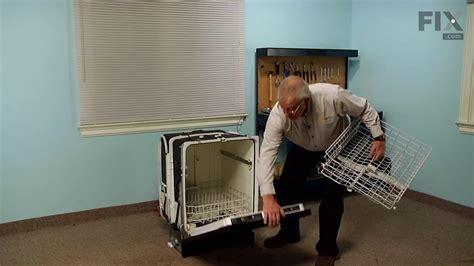 ge dishwasher repair   replace  upper rack