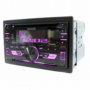 Kenwood Double Din Bluetooth Cd Player Usb  Aux Receiver