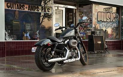 Harley Davidson 883 Iron Bikes Wallpapers Sportster