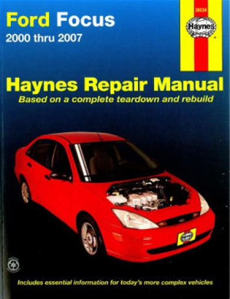 free online auto service manuals 2005 ford focus seat position control haynes ford focus 2000 2011 auto repair manual