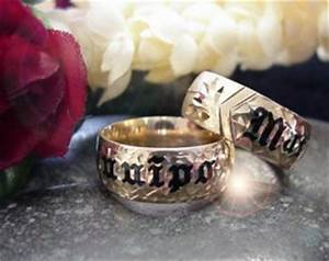 Hawaiian wedding rings pg2 for Hawaiian wedding ring sets