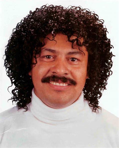 jerry jheri curl curly afro   lionel richie disco pimp wig costume black ebay