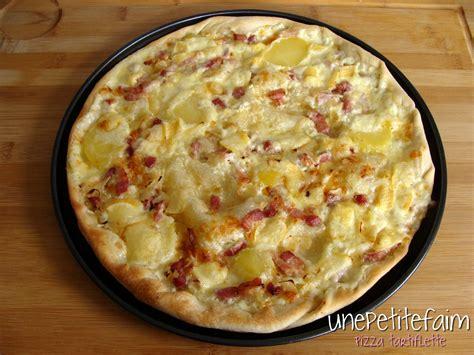 pizza tartiflette une petite faim