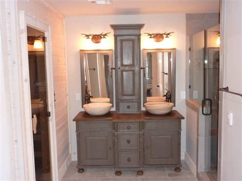 images  kregg double vanity  pinterest shared bathroom gray dresser