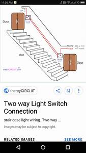 A Bulb Has Two Switches  One On The First Floor And