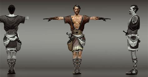 God Of War Ascension Concept Art By Anthony Jones
