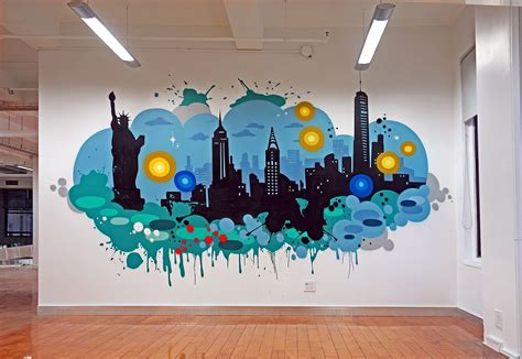 Wall Mural Ideas Office by Graffiti Office Search Office Wall