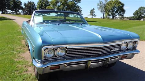 Chevy Impala Blue Convertible For Sale