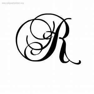 Pics For > Fancy Cursive R