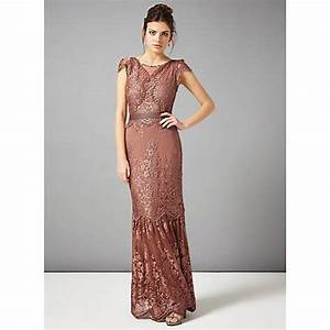 Buy Phase Eight Collection 8 Cindy Lace Full Length Dress ...