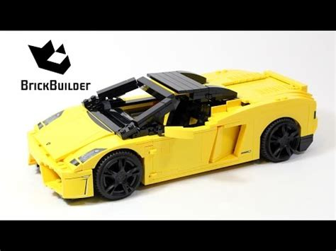 lego racers  lamborghini gallardo lego speed build