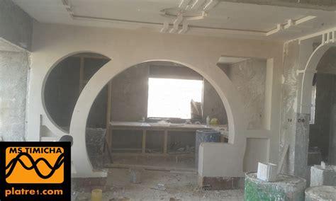 arc en platre moderne marocain decoration platre plafond